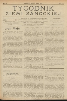 Tygodnik Ziemi Sanockiej. 1913, nr19