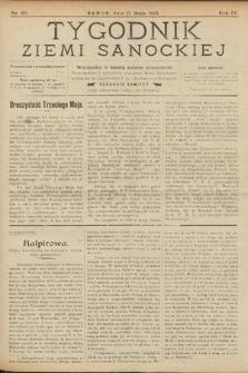 Tygodnik Ziemi Sanockiej. 1913, nr20