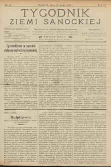 Tygodnik Ziemi Sanockiej. 1913, nr21