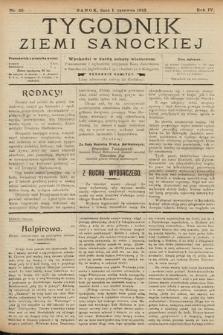 Tygodnik Ziemi Sanockiej. 1913, nr23