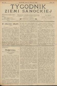 Tygodnik Ziemi Sanockiej. 1913, nr24