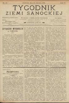 Tygodnik Ziemi Sanockiej. 1913, nr25