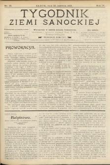 Tygodnik Ziemi Sanockiej. 1913, nr26