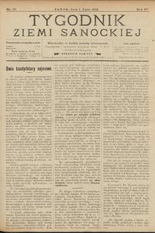 Tygodnik Ziemi Sanockiej. 1913, nr27