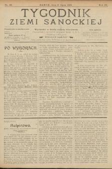 Tygodnik Ziemi Sanockiej. 1913, nr28