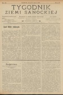 Tygodnik Ziemi Sanockiej. 1913, nr29