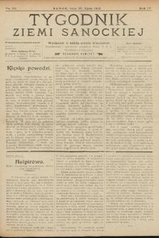 Tygodnik Ziemi Sanockiej. 1913, nr30