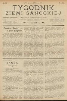 Tygodnik Ziemi Sanockiej. 1913, nr31