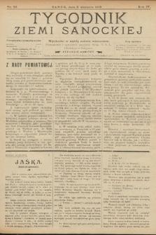 Tygodnik Ziemi Sanockiej. 1913, nr32