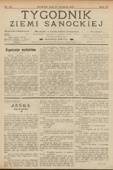 Tygodnik Ziemi Sanockiej. 1913, nr34