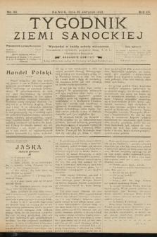 Tygodnik Ziemi Sanockiej. 1913, nr36