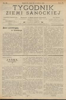 Tygodnik Ziemi Sanockiej. 1913, nr38