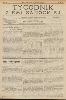 Tygodnik Ziemi Sanockiej. 1913, nr39