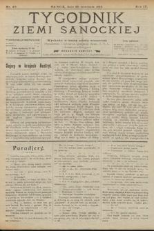 Tygodnik Ziemi Sanockiej. 1913, nr40