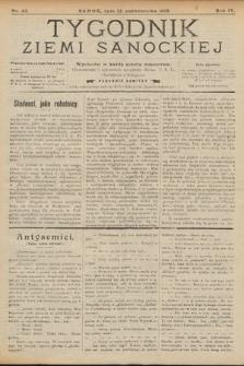 Tygodnik Ziemi Sanockiej. 1913, nr42
