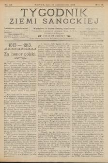 Tygodnik Ziemi Sanockiej. 1913, nr43