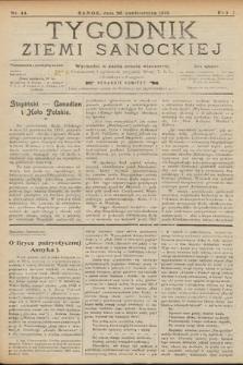 Tygodnik Ziemi Sanockiej. 1913, nr44