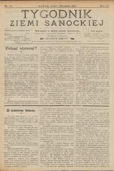 Tygodnik Ziemi Sanockiej. 1913, nr45