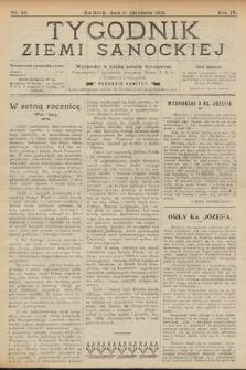 Tygodnik Ziemi Sanockiej. 1913, nr46