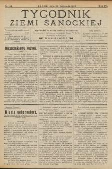 Tygodnik Ziemi Sanockiej. 1913, nr48