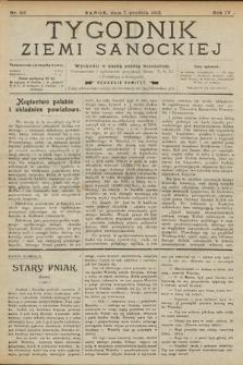 Tygodnik Ziemi Sanockiej. 1913, nr50
