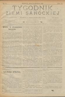 Tygodnik Ziemi Sanockiej. 1913, nr51