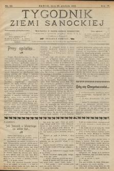 Tygodnik Ziemi Sanockiej. 1913, nr52