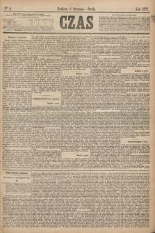 Czas. [R.28], Ner 4 (6 stycznia 1875)