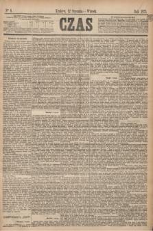 Czas. [R.28], Ner 8 (12 stycznia 1875)