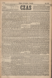 Czas. [R.28], Ner 10 (14 stycznia 1875)