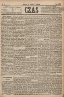 Czas. [R.28], Ner 14 (19 stycznia 1875)