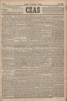 Czas. [R.28], Ner 18 (23 stycznia 1875)