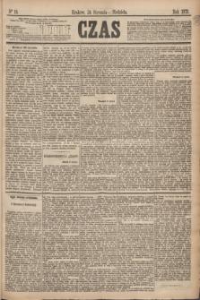 Czas. [R.28], Ner 19 (24 stycznia 1875)