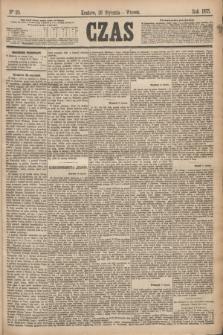 Czas. [R.28], Ner 20 (26 stycznia 1875)