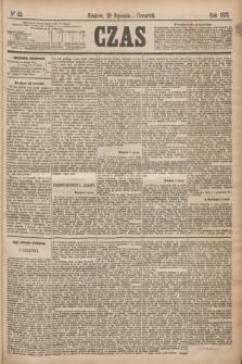 Czas. [R.28], Ner 22 (28 stycznia 1875)