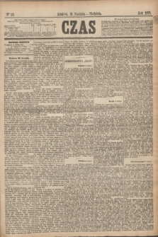Czas. [R.28], Ner 25 (31 stycznia 1875)