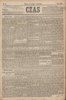 Czas. [R.28], Ner 33 (11 lutego 1875)