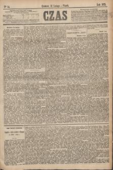 Czas. [R.28], Ner 34 (12 lutego 1875)