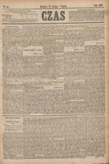Czas. [R.28], Ner 40 (19 lutego 1875)