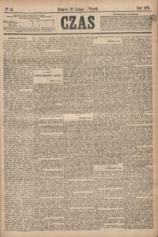 Czas. [R.28], Ner 43 (23 lutego 1875)