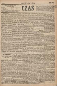 Czas. [R.28], Ner 46 (26 lutego 1875)