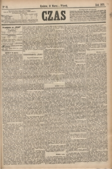 Czas. [R.28], Ner 61 (16 marca 1875)
