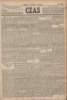 Czas. [R.28], Ner 77 (4 kwietnia 1875)