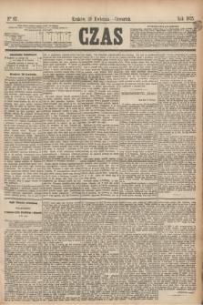 Czas. [R.28], Ner 97 (29 kwietnia 1875)