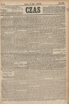 Czas. [R.28], Ner 115 (23 maja 1875)