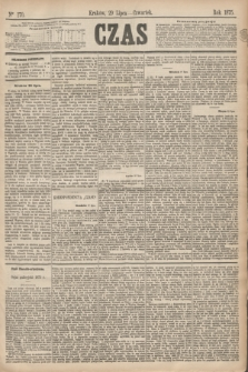 Czas. [R.28], Ner 170 (29 lipca 1875)