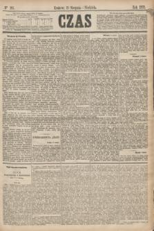 Czas. [R.28], Ner 185 (15 sierpnia 1875)