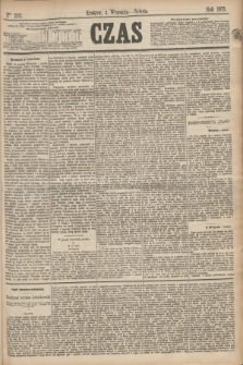 Czas. [R.28], Ner 202 (4 września 1875)