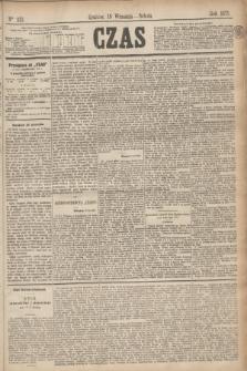 Czas. [R.28], Ner 213 (18 września 1875)