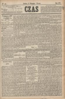 Czas. [R.28], Ner 215 (21 września 1875)